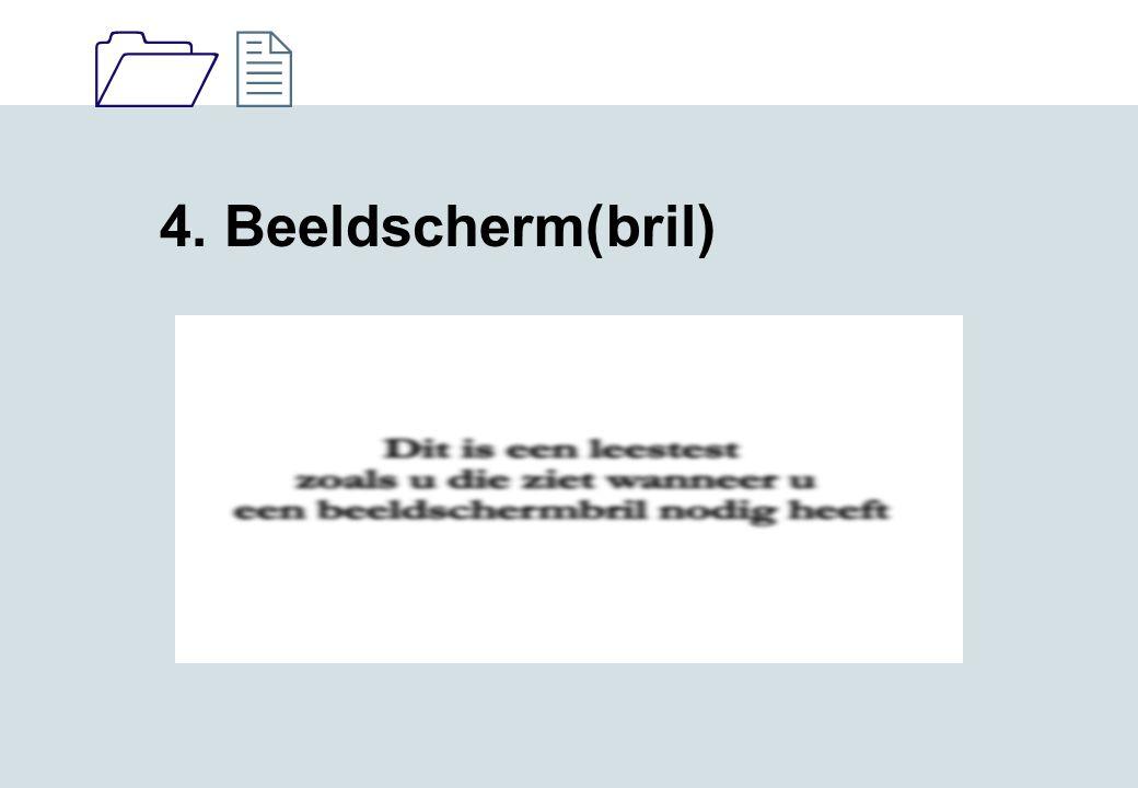1212 4. Beeldscherm(bril)