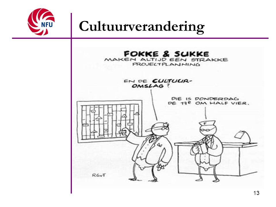 13 Cultuurverandering