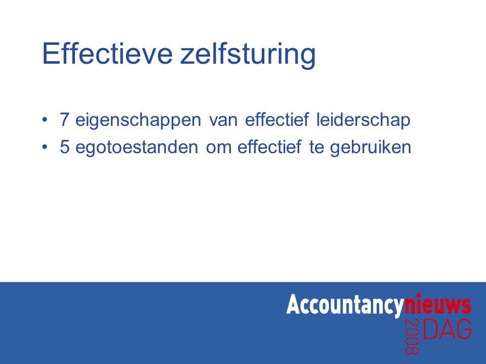 Effectieve zelfsturing 7 eigenschappen van effectief leiderschap 5 egotoestanden om effectief te gebruiken