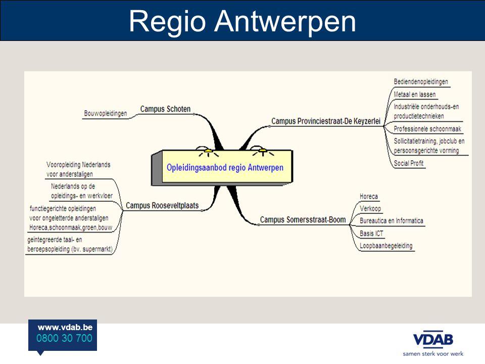 www.vdab.be 0800 30 700 Regio Antwerpen