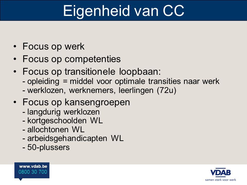 www.vdab.be 0800 30 700 … naar de opleiding Informeren Instroomfase: voorwaarden - jobdoelwit - diploma is niet vereist - motivatie, Nederlands en basis lagere school - ev.