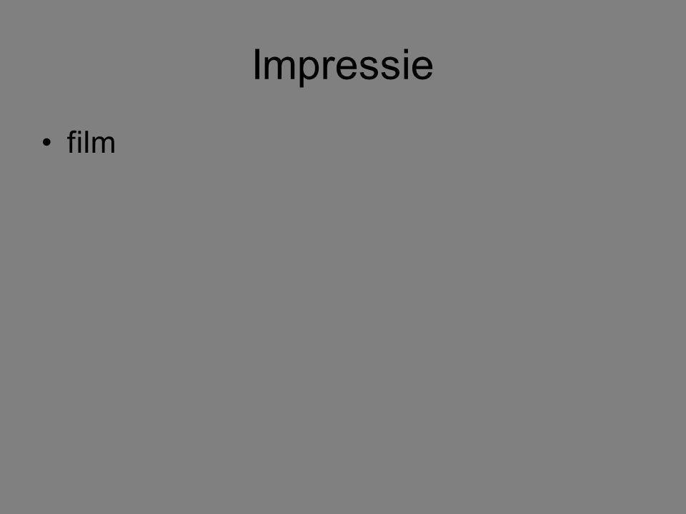 Impressie film