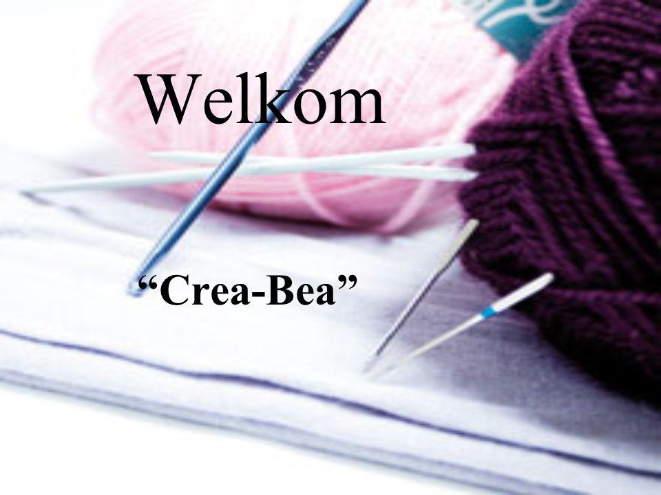 """Welkom """"Crea-Bea"""""""