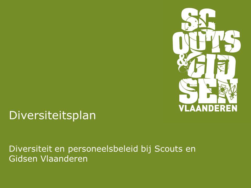 Diversiteitsplan Diversiteit en personeelsbeleid bij Scouts en Gidsen Vlaanderen