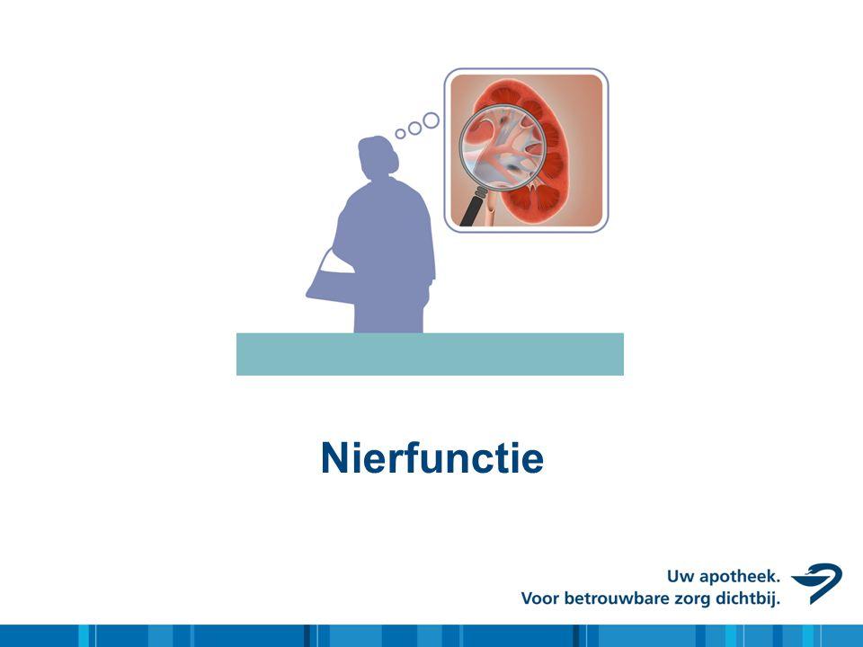 Nierfunctie