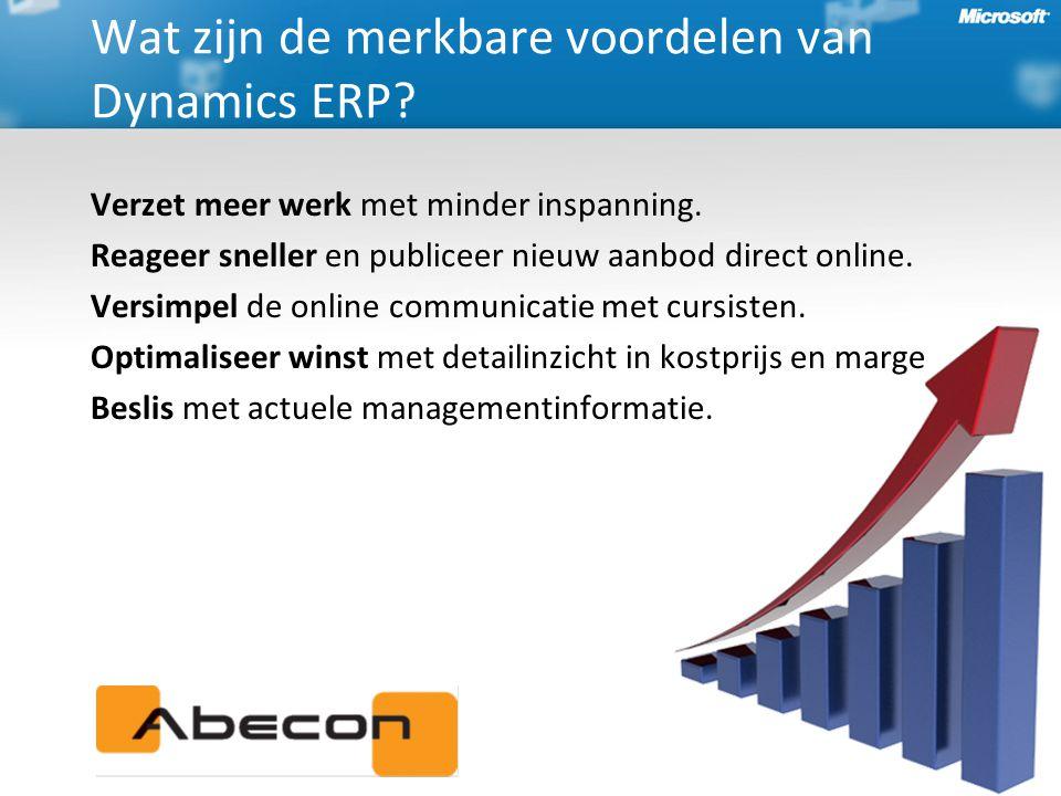 Verzet meer werk met minder inspanning.Reageer sneller en publiceer nieuw aanbod direct online.