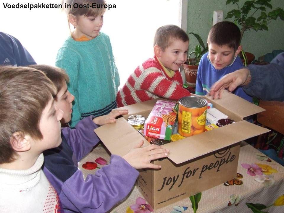Voedselpakketten in Oost-Europa