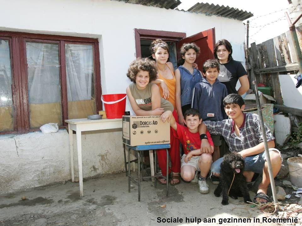 Sociale hulp aan gezinnen in Roemenië