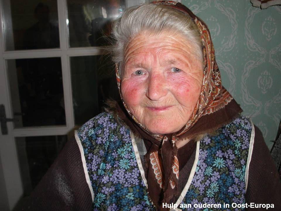 Hulp aan ouderen in Oost-Europa