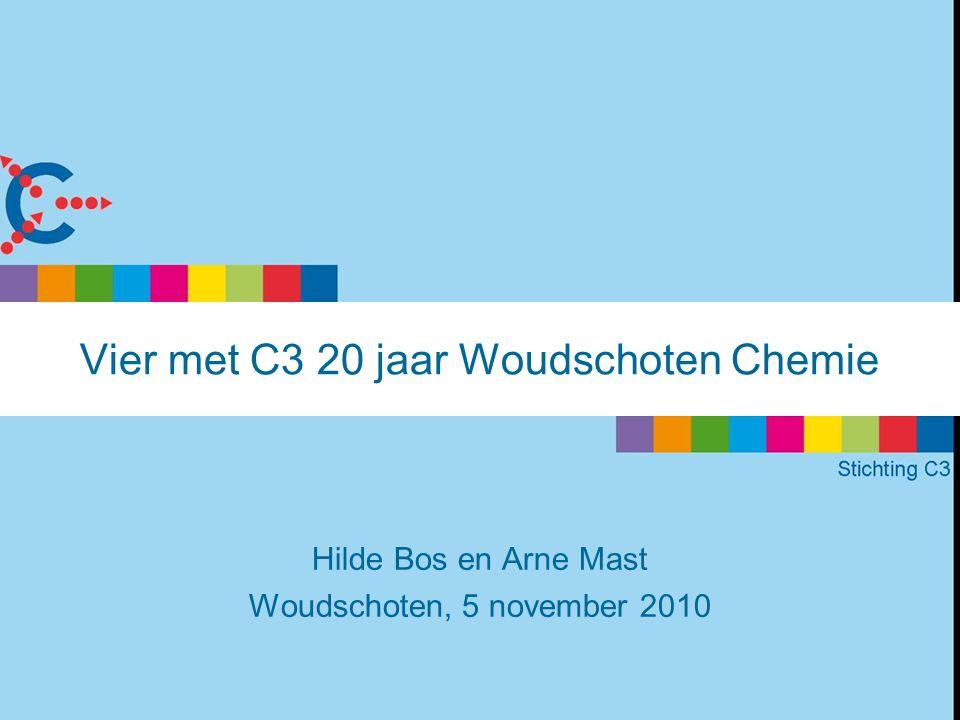 Vier met C3 20 jaar Woudschoten Chemie Hilde Bos en Arne Mast Woudschoten, 5 november 2010
