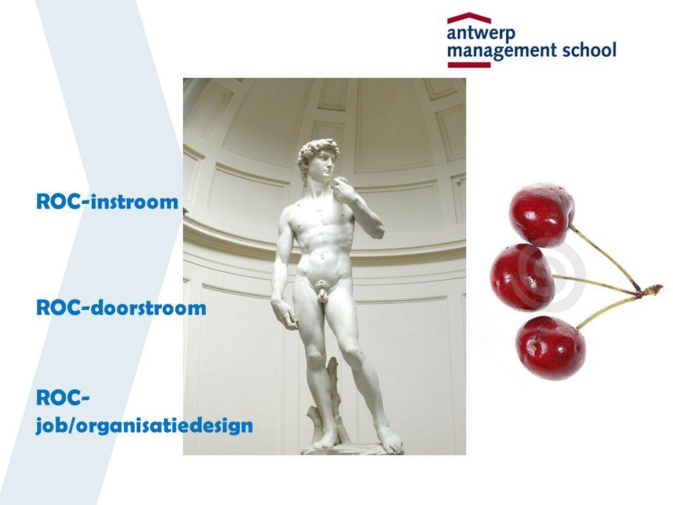 ROC-instroom ROC-doorstroom ROC- job/organisatiedesign
