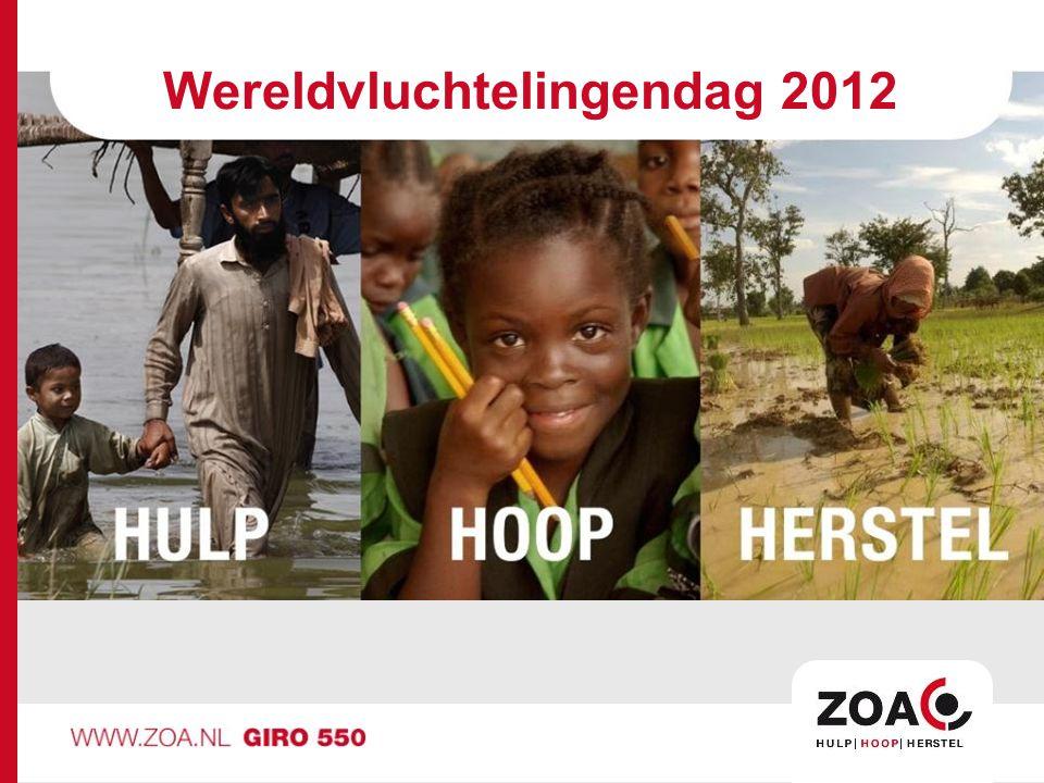 Wereldvluchtelingendag 2012