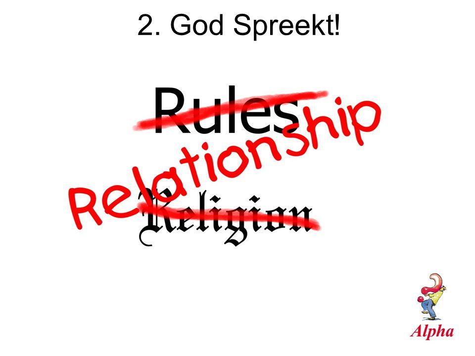 2. God Spreekt!
