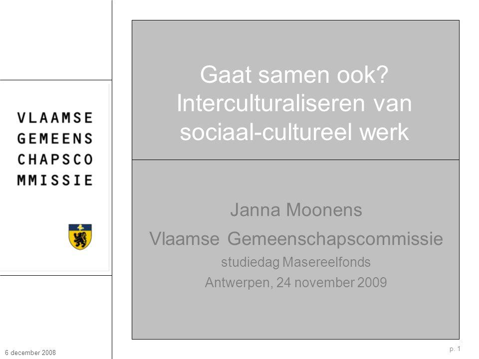 6 december 2008 Janna Moonens p.