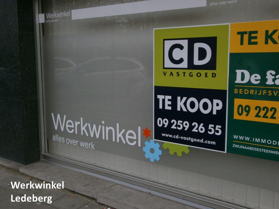 CONSEQUENTIES VOOR GENT Werkwinkel Ledeberg
