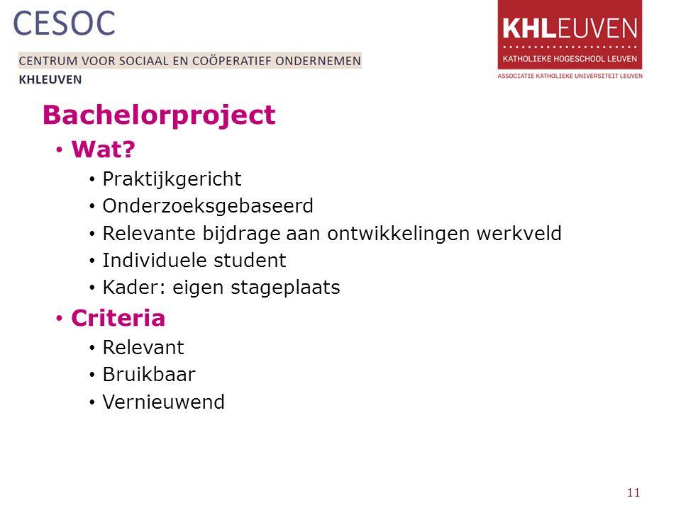 Bachelorproject Wat.