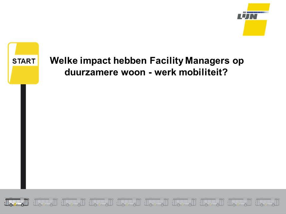 Welke impact hebben Facility Managers op duurzamere woon - werk mobiliteit? START
