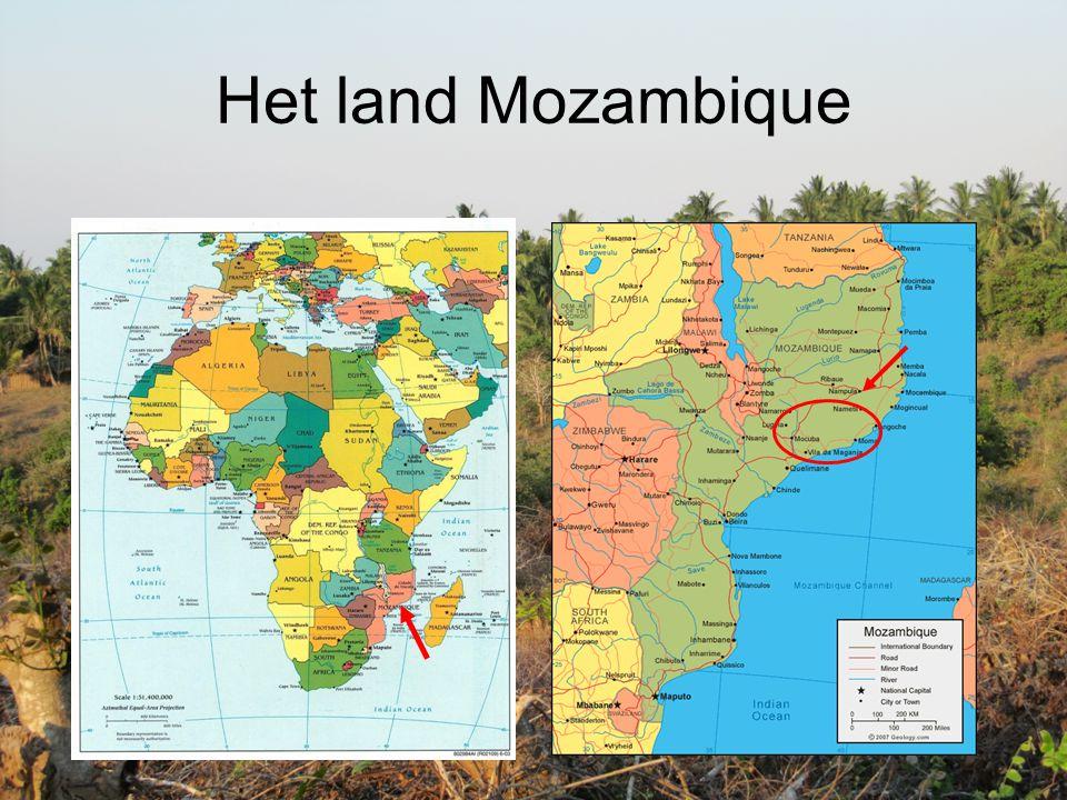 Het land Mozambique