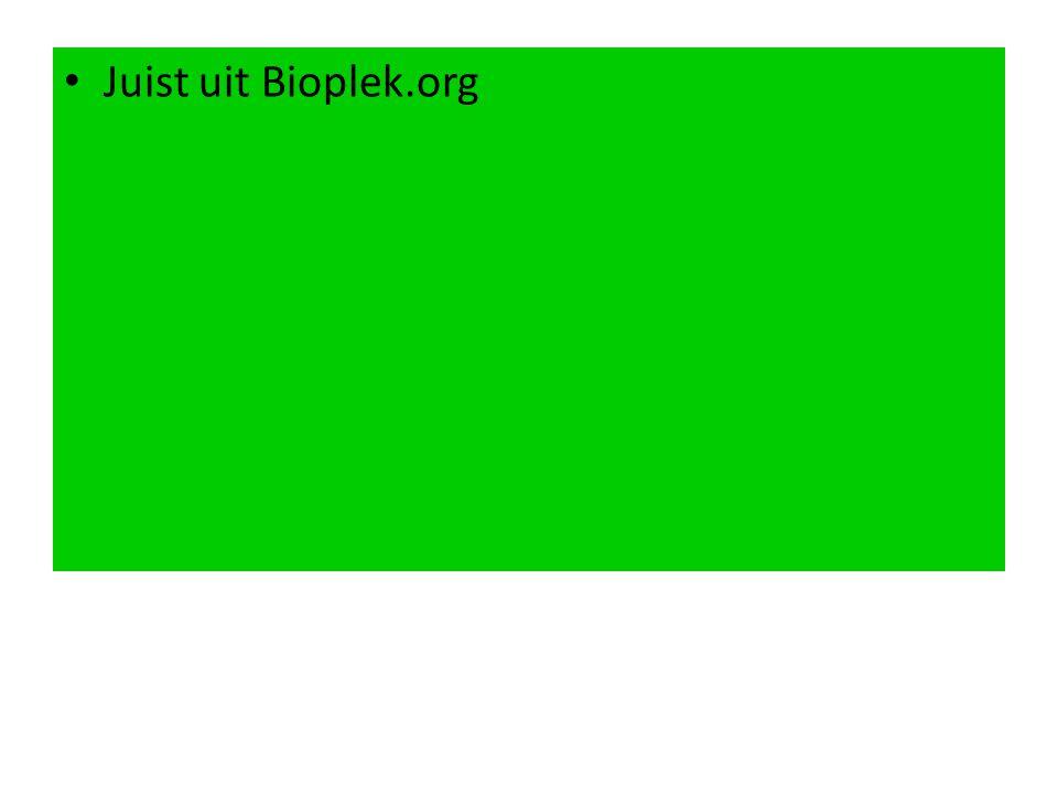 Juist uit Bioplek.org
