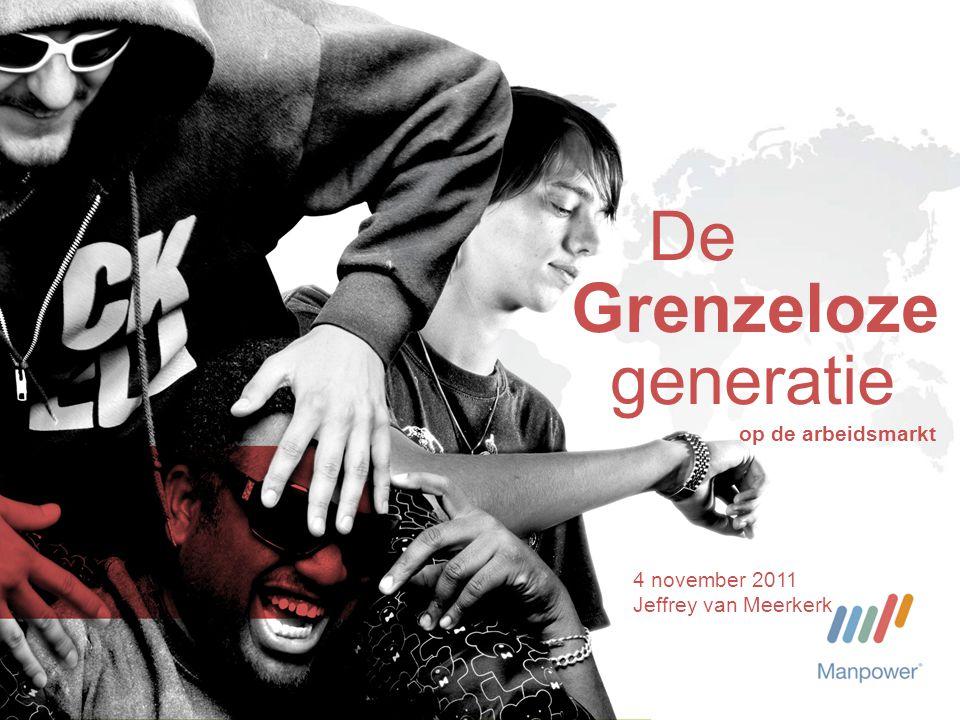 De Grenzeloze generatie 4 november 2011 Jeffrey van Meerkerk op de arbeidsmarkt