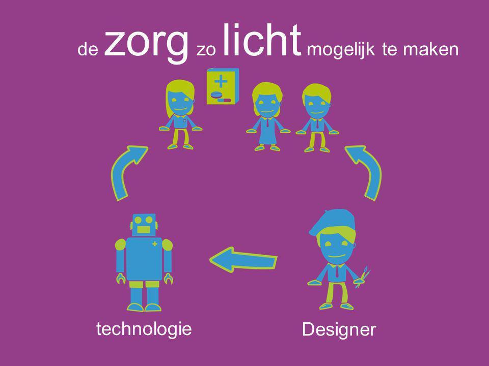 technologie Designer de zorg zo licht mogelijk te maken