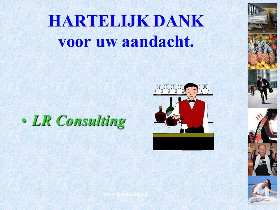 www.lrconsulting.nl HARTELIJK DANK voor uw aandacht. LR ConsultingLR Consulting