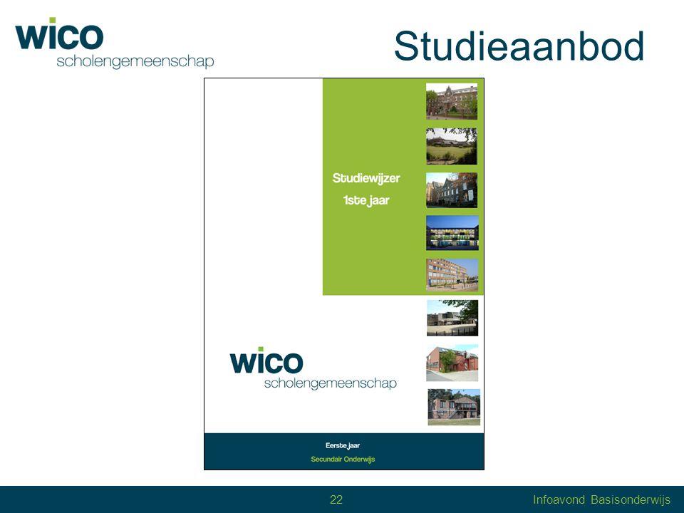 Studieaanbod 22 22Infoavond Basisonderwijs