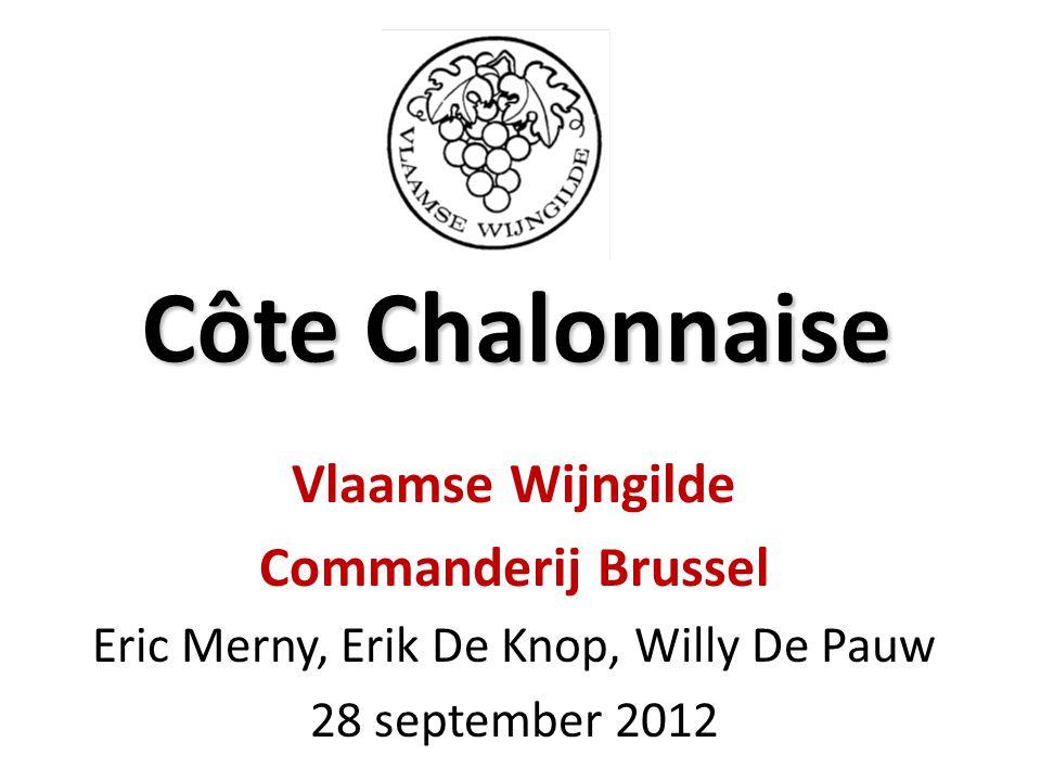 Côte Chalonnaise Vlaamse Wijngilde Commanderij Brussel Eric Merny, Erik De Knop, Willy De Pauw 28 september 2012