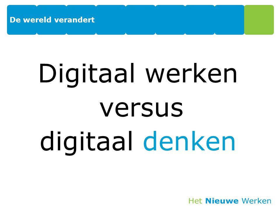 Digitaal werken versus digitaal denken 10
