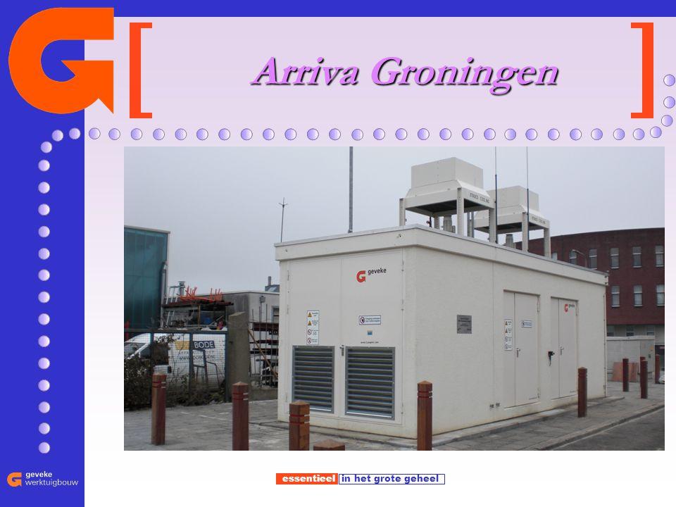 essentieel in het grote geheel Arriva Groningen Arriva Groningen