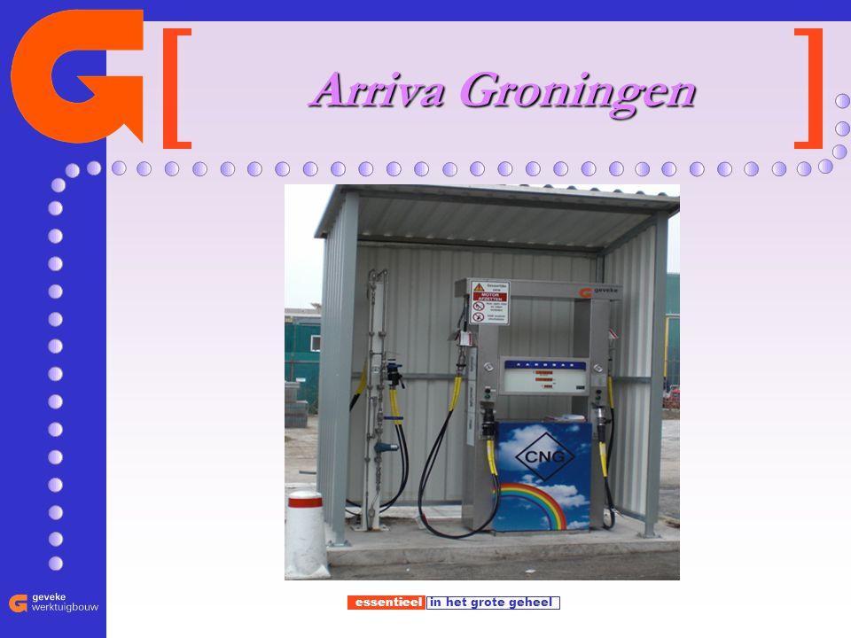 essentieel in het grote geheel Arriva Groningen