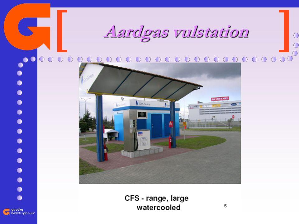 essentieel in het grote geheel Aardgas vulstation