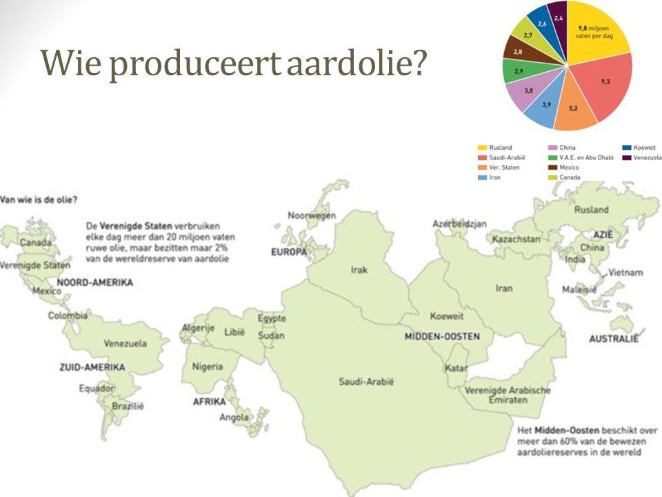 Wie produceert aardolie?