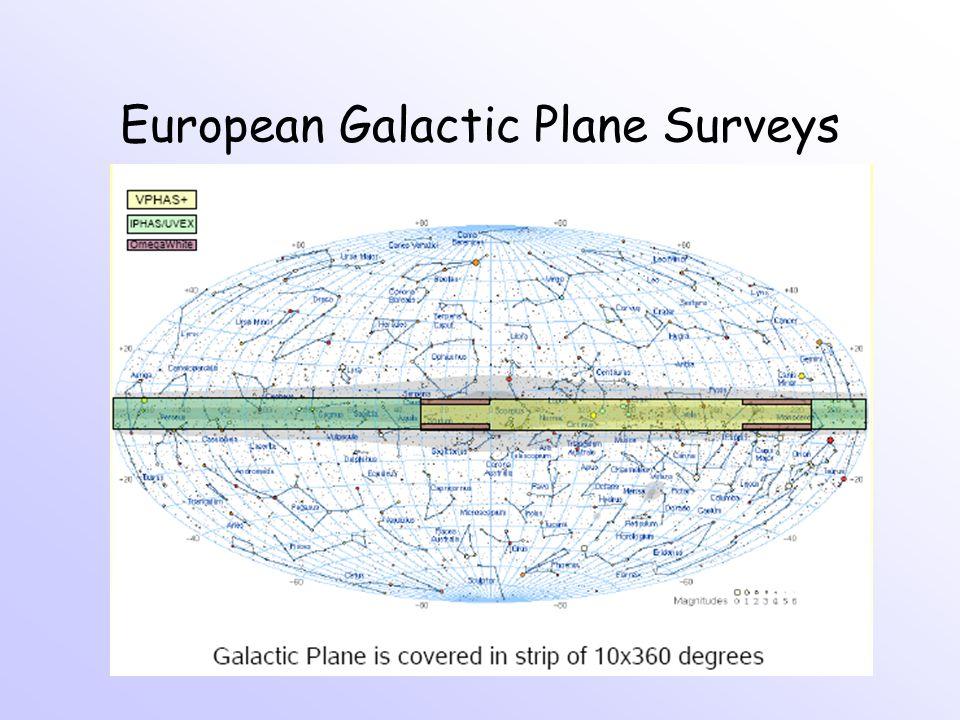 European Galactic Plane Surveys