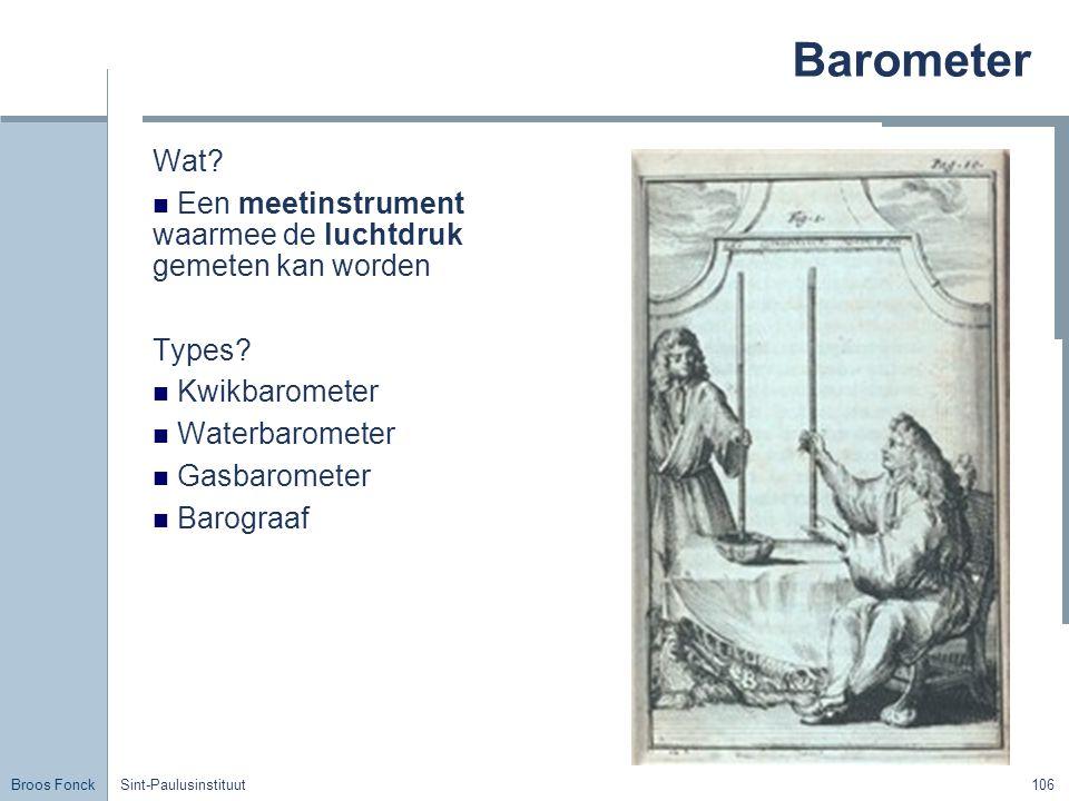 Broos Fonck Sint-Paulusinstituut106 Barometer Wat.