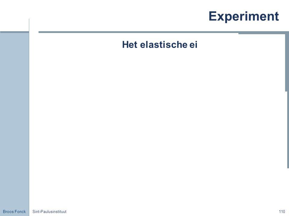 Broos Fonck Sint-Paulusinstituut110 Experiment Het elastische ei