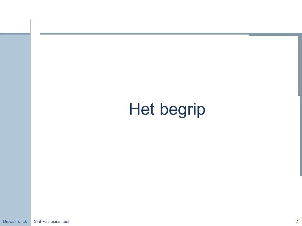 Broos Fonck Sint-Paulusinstituut23 Hydraulische pers 1) A1 < A2 Stel A2 = 2.A1  ≠ oppervlakte