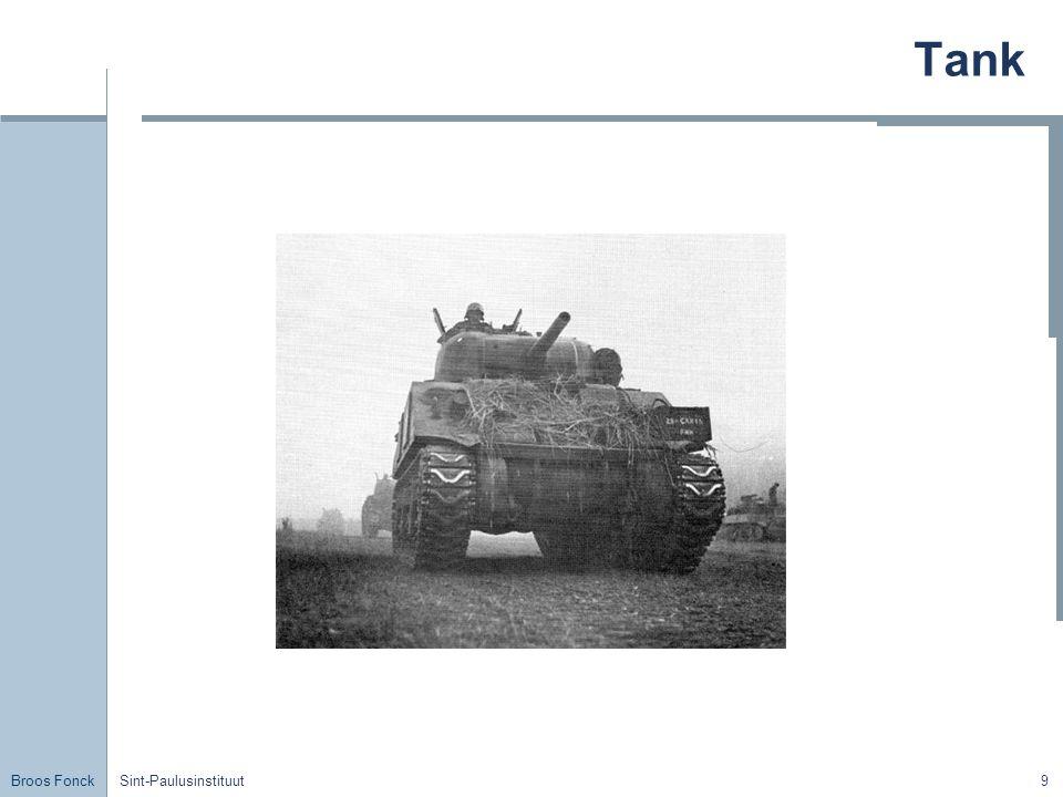 Broos Fonck Sint-Paulusinstituut9 Tank
