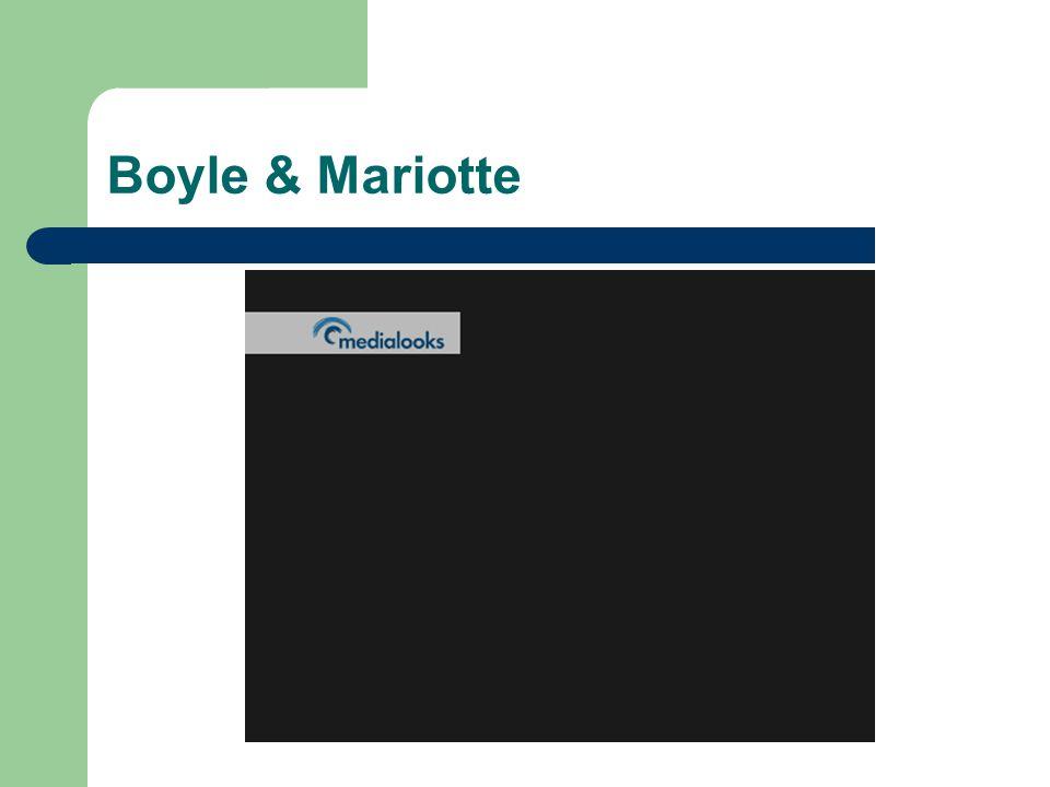 Boyle & Mariotte
