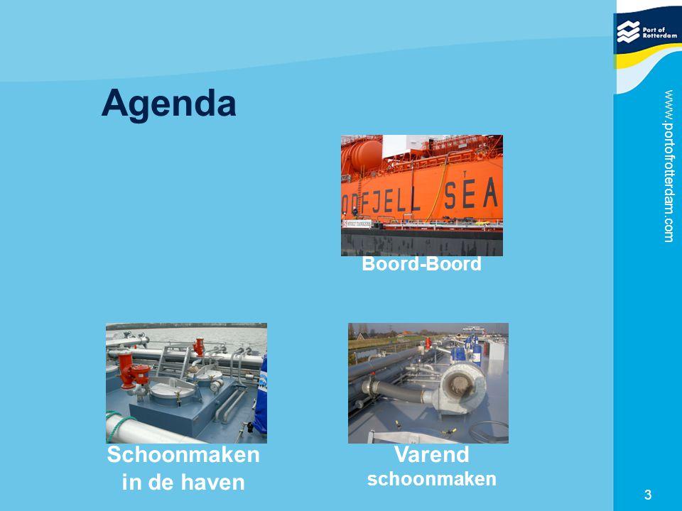 www.portofrotterdam.com 3 Agenda Boord-Boord Schoonmaken in de haven Varend schoonmaken