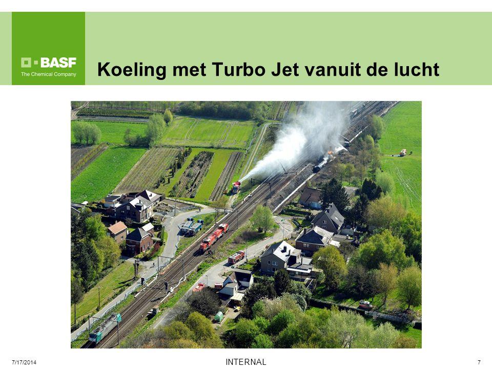 Koeling met Turbo Jet vanuit de lucht 7 INTERNAL 7/17/2014