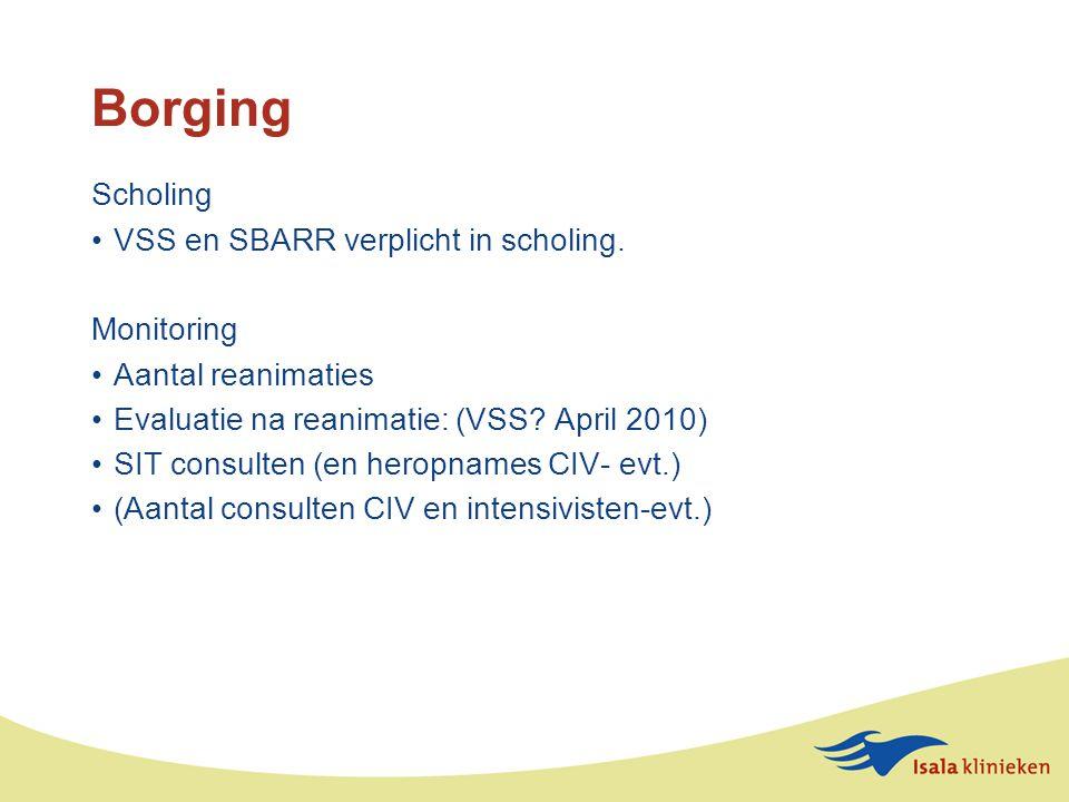Borging Scholing VSS en SBARR verplicht in scholing.