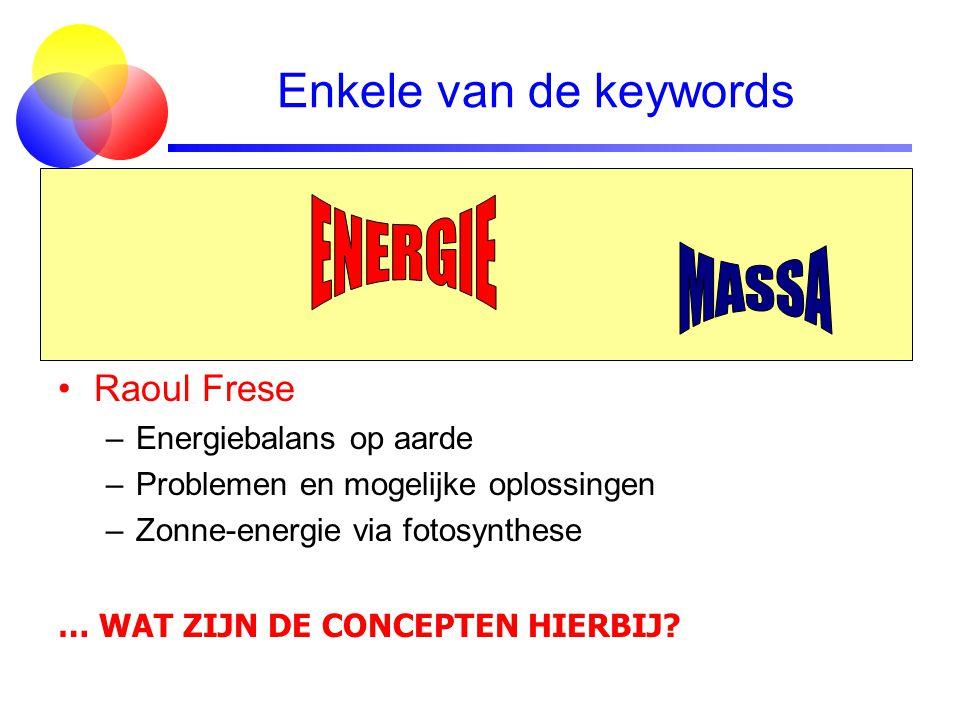 Enkele van de keywords Jo van den Brand –Bouwstenen & elementaire deeltjes –Krachten, i.h.b. zwakke kracht & kernfusie –Antimaterie en het ontbreken d