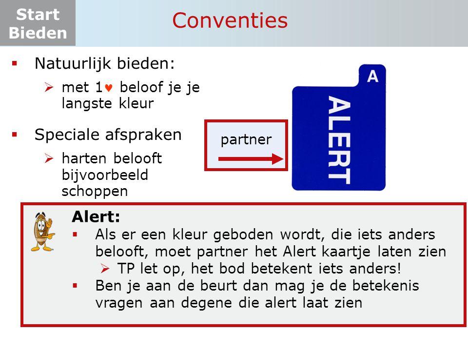 Start Bieden Tafelopdracht 6.1-3 OostZuid    11 .