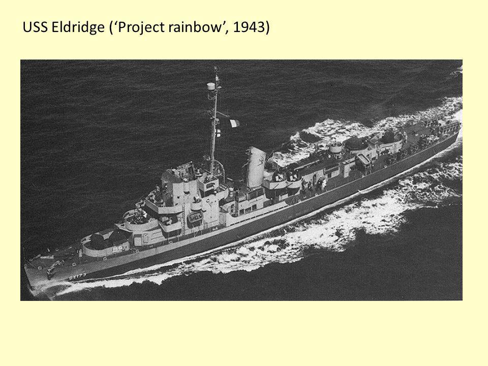 USS Eldridge ('Project rainbow', 1943)