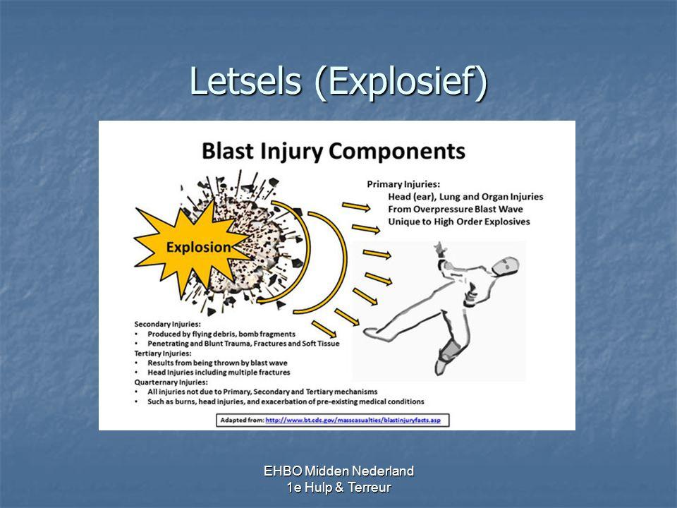Letsels (Explosief) EHBO Midden Nederland 1e Hulp & Terreur