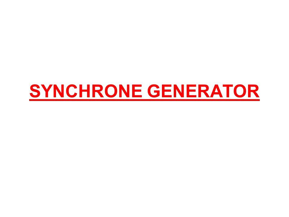 SYNCHRONE GENERATOR