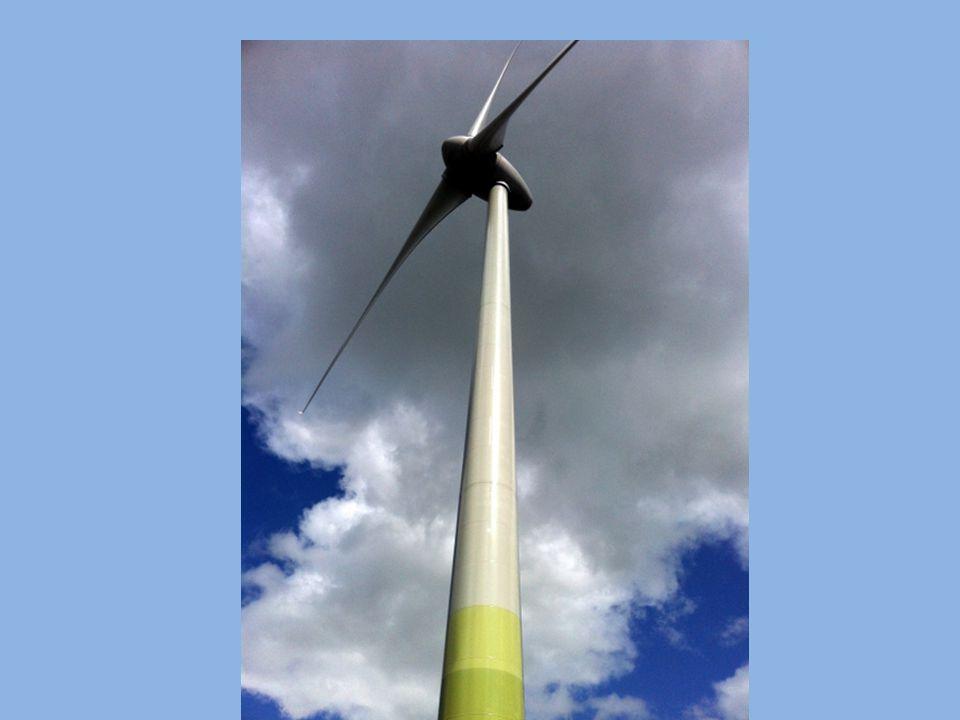 7 Hoeveel elektriciteit halen we uit windenergie, vergeleken met alle elektriciteit die wordt opgewekt.