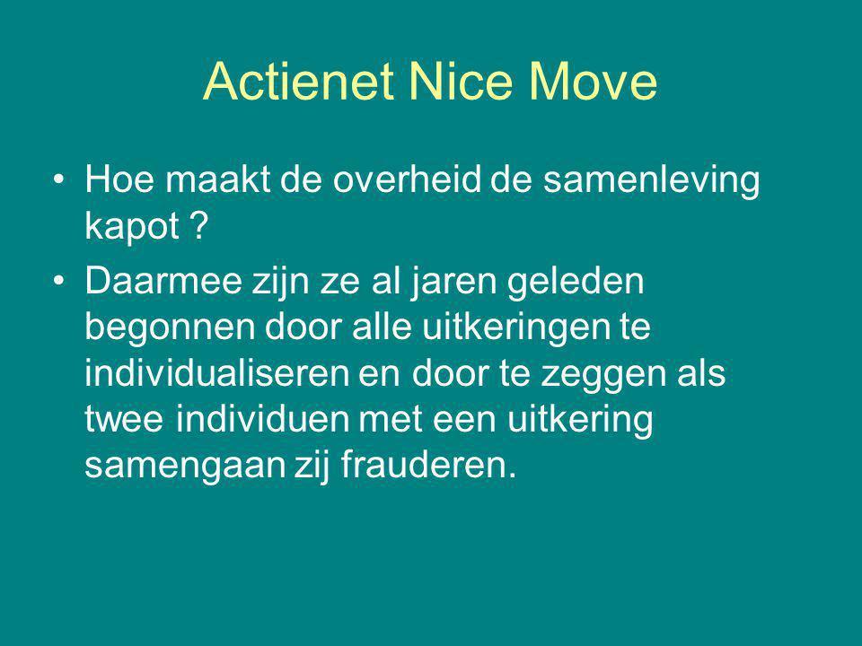 Actienet Nice Move Hoe maakt de overheid de samenleving kapot .