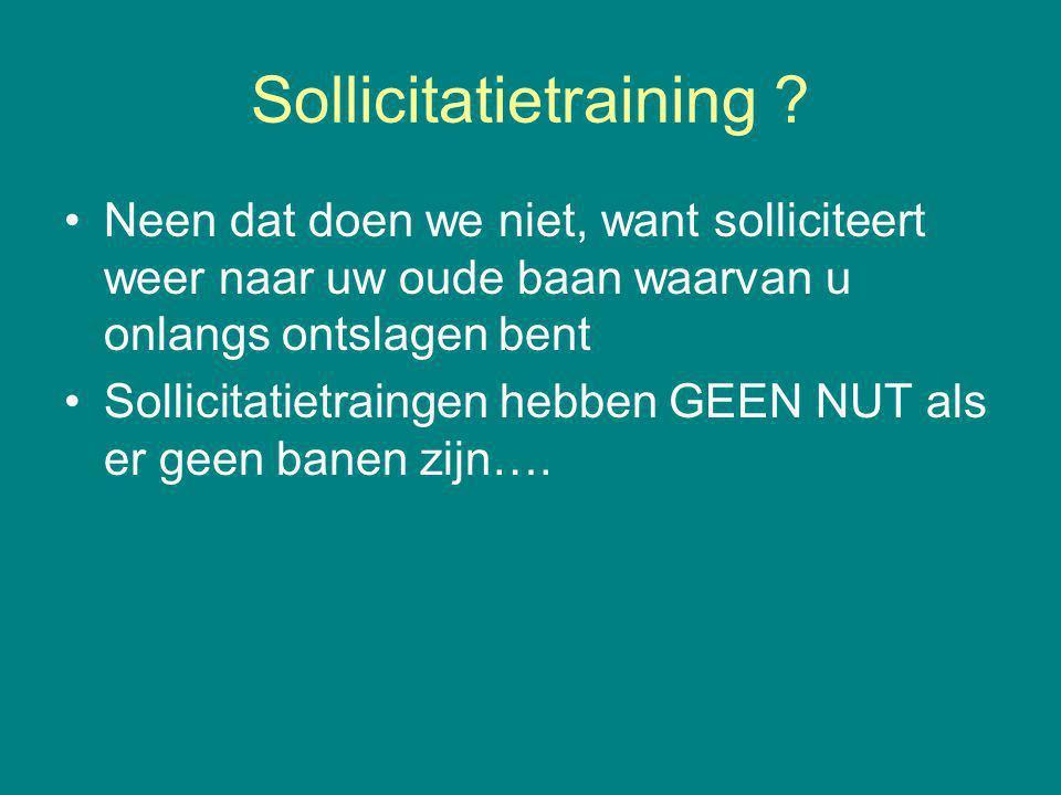 Sollicitatietraining .